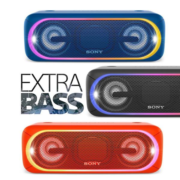充值信仰 轰趴利器 Sony SRS-XB40 便携式音响