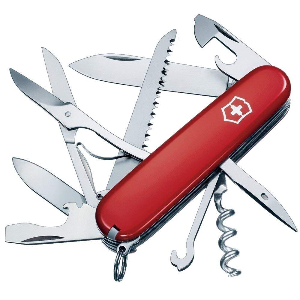Victorinox维氏15种功能瑞士军刀(红色)
