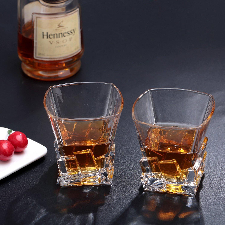 和你再干一杯~ 冰块外型Whisky酒杯