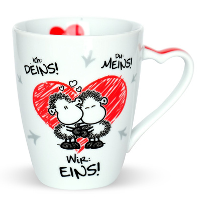 充满爱意的Sheepworld 45183 Kaffee-Tasse 咖啡杯