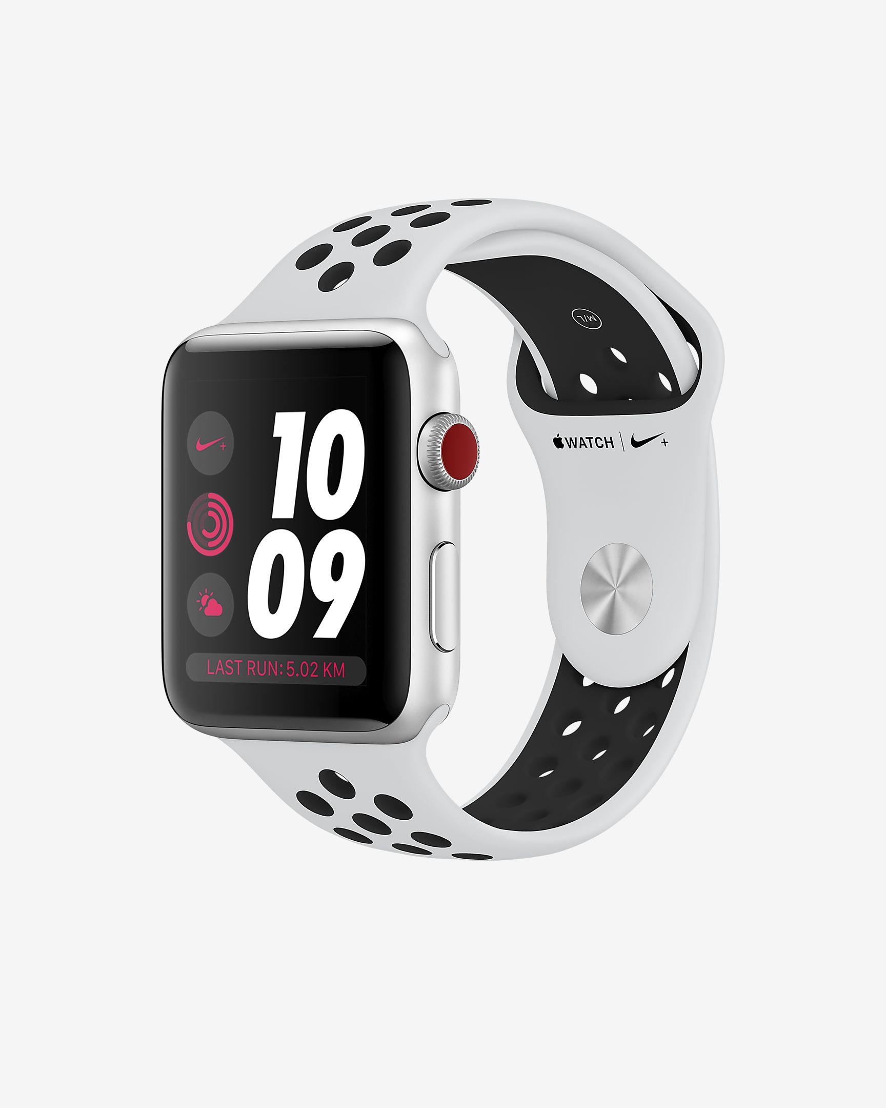 尽情奔跑 Apple Watch Nike+ 三代苹果运动手表
