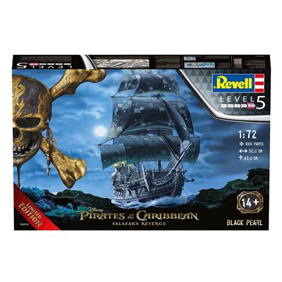 喜欢加勒比海盗的不要错过! Revell 威望 海盗船黑珍珠
