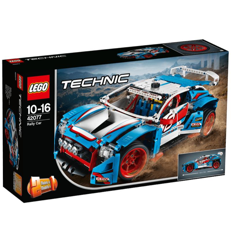 LEGO Technic 42077 二合一拉力赛车