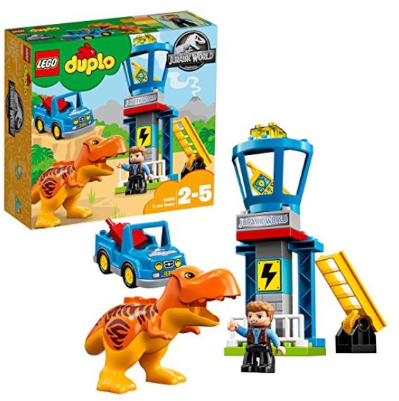 Lego Duplo 侏罗纪世界系列霸王龙监视塔