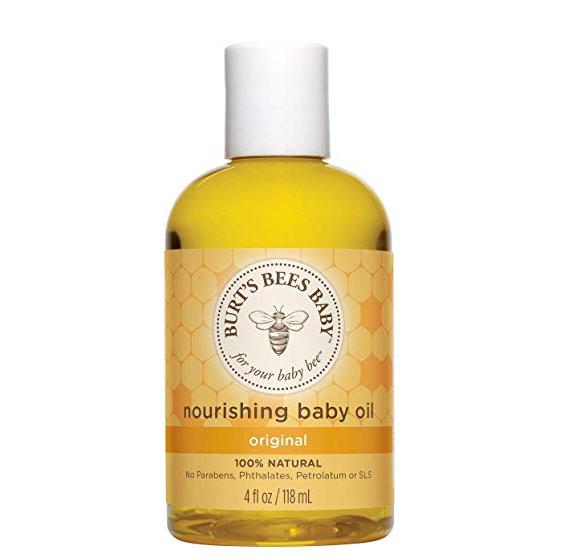 Burt's Bees小蜜蜂天然杏仁葡萄籽婴儿油