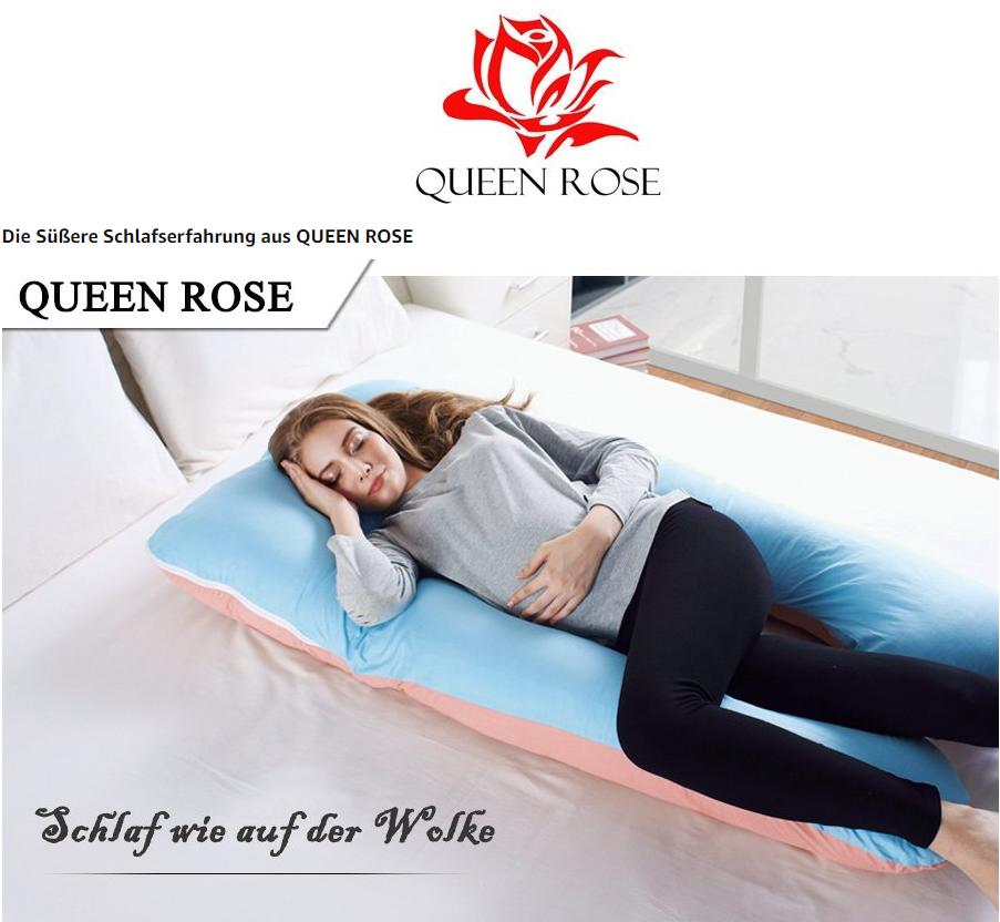 给麻麻最舒服的体验 QUEEN ROSE U形孕妇枕头