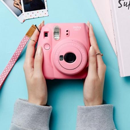 富士 Fujifilm instax mini 9 粉色款