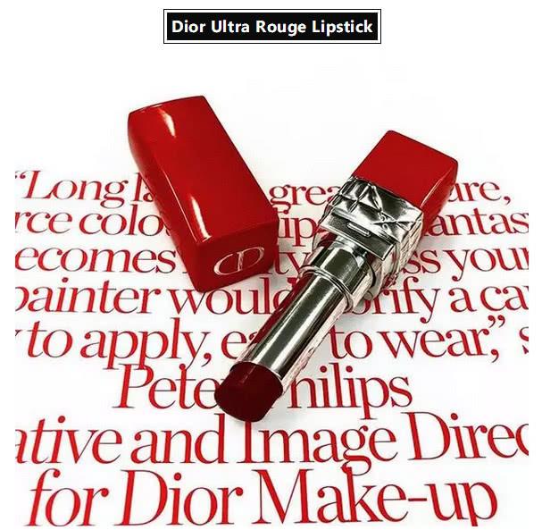 脱下蓝金的外衣,换上火红的战袍! Dior  Ultra Rouge 迪奥红管超惹火口红