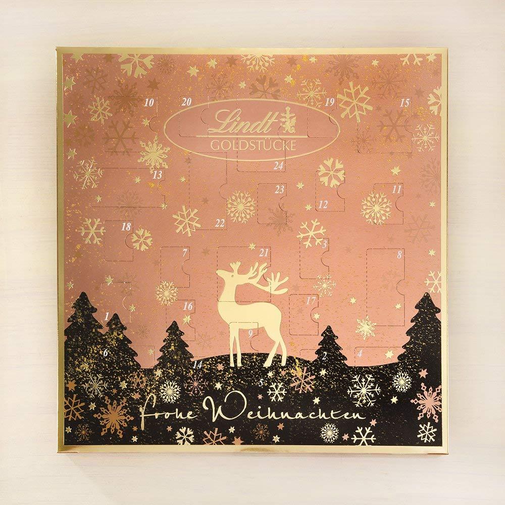 圣诞节预备战 lindt Adventskalender 倒数日历
