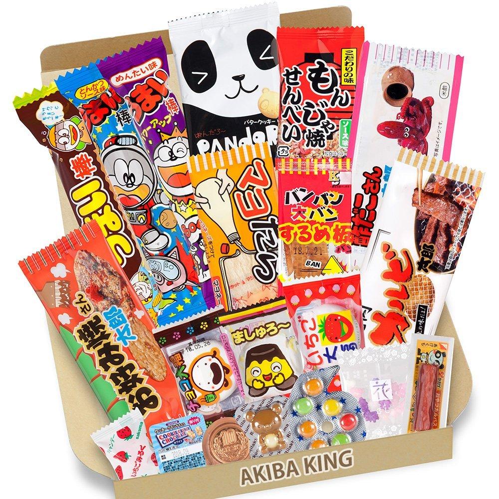 喜欢零食的小伙伴看过来啦~DAGASHI 日本零食盒子