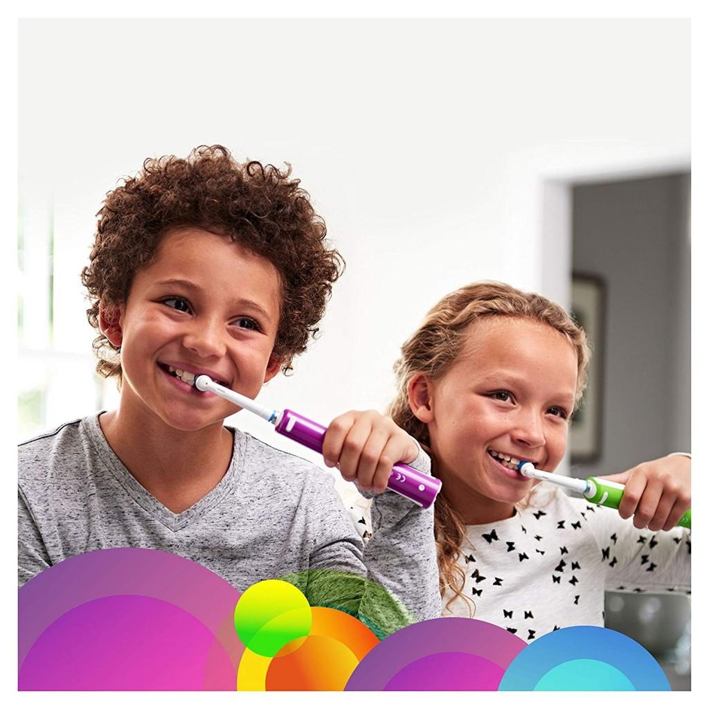 专为青少年设计 Oral-B  Junior 充电电动牙刷