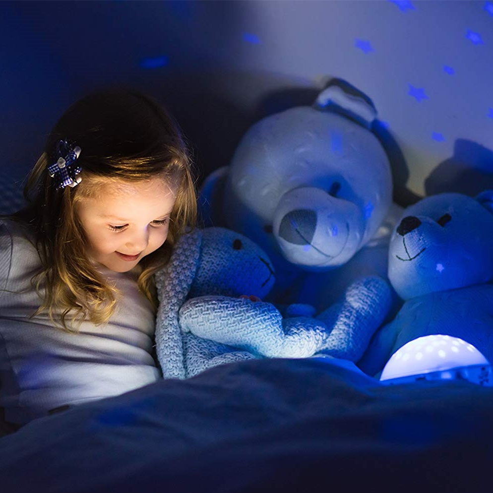 ANSMANN LED  蓝精灵+小星星投影夜灯