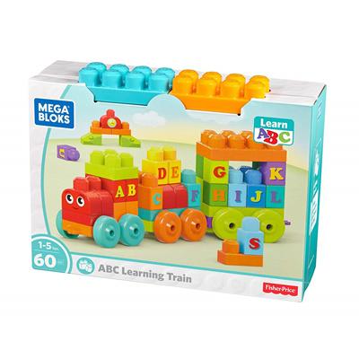 在游戏中学习字母 Mega Bloks Mattel DXH35 益智积木