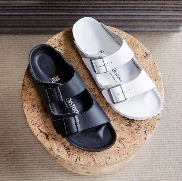 【超火的轻便凉拖白菜价了!】Brikenstock经典黑白款凉鞋