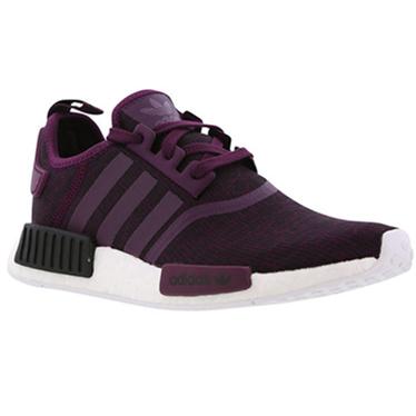 Adidas 阿迪达斯经典之作 NMD R1 女式运动鞋 紫色