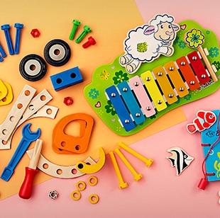 德国著名玩具品牌Eichhorn 木质儿童玩具