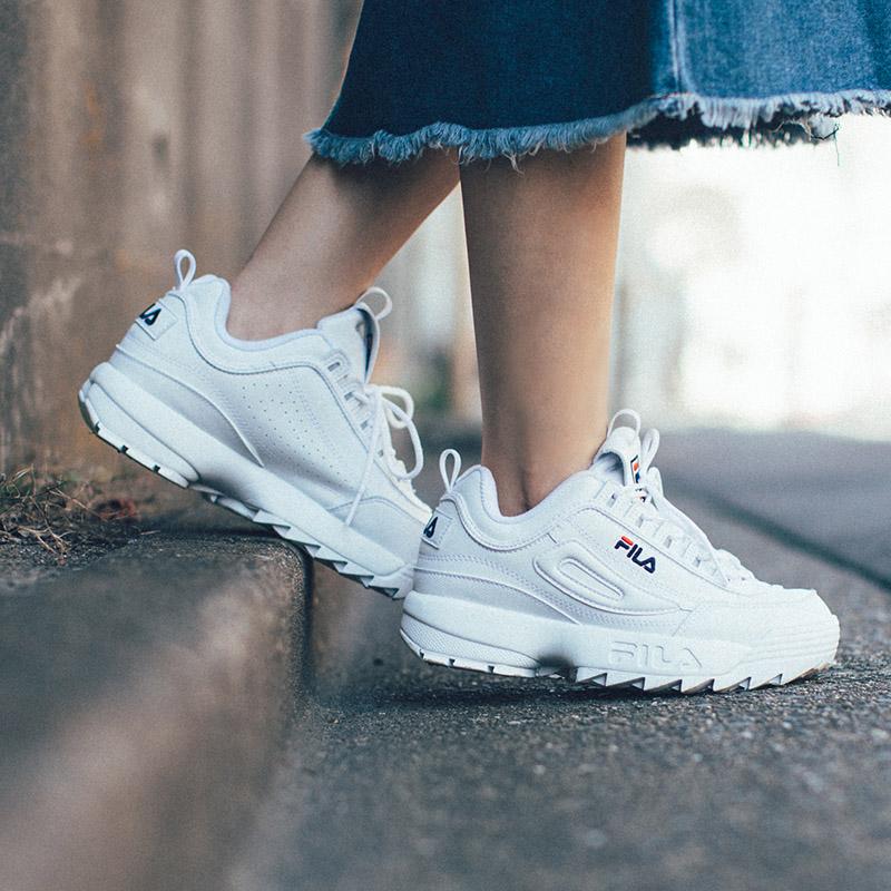全世界都在穿的超红老爹鞋推荐!Fila Damen Sneaker Disruptor