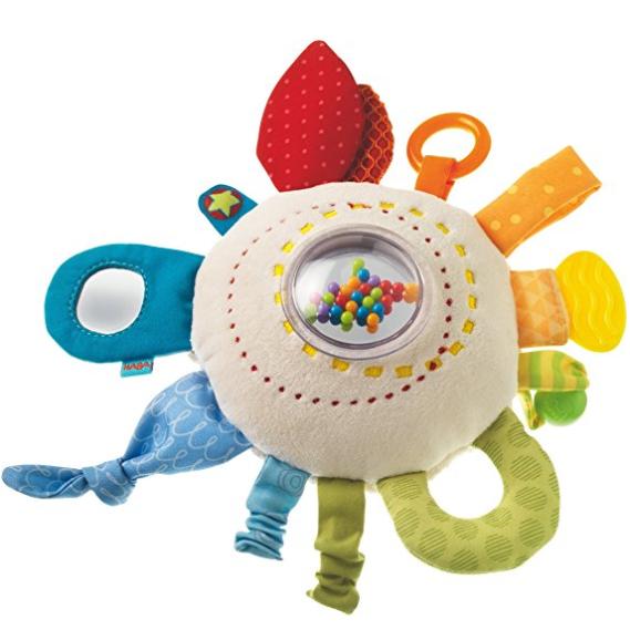 德国 Haba 婴幼儿多功能玩具 Regenbogenspaß 毛绒彩虹