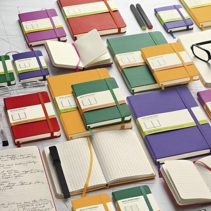 艺术家和知识分子的最爱 传奇笔记本Moleskine