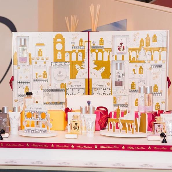 ▍真 ▍小众香氛品牌 CARTHUSIA 卡普里岛 圣诞倒数日历