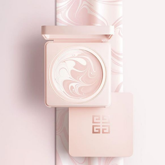 Givenchy纪梵希仙粉大理石纹素颜霜&花漾奇肌亮采露