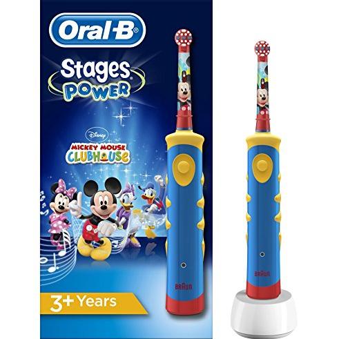 Braun Oral-B米奇儿童趣味电动牙刷