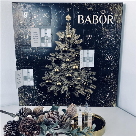 BABOR 2018  Adventskalender 芭宝安瓶精华圣诞倒数日历