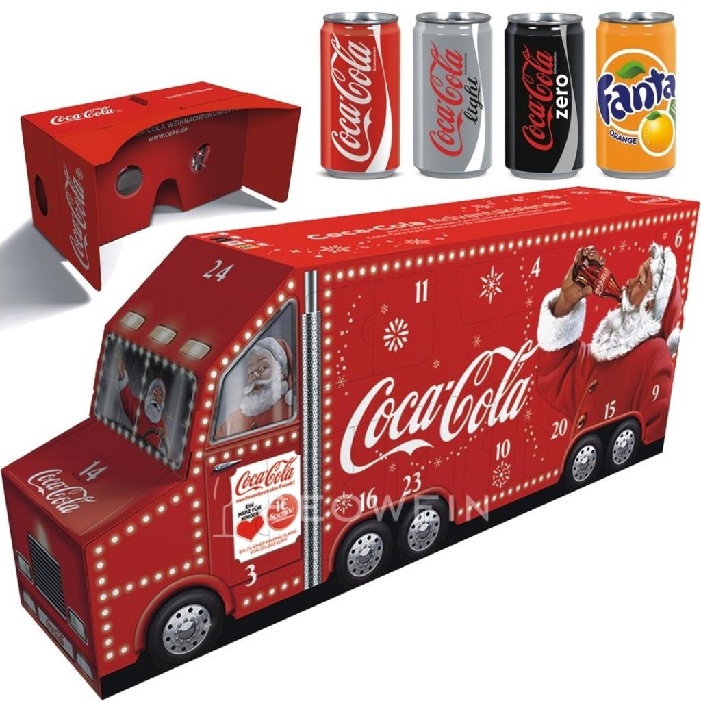 可口可乐喊你过圣诞啦~ 现在Coca cola圣诞日历