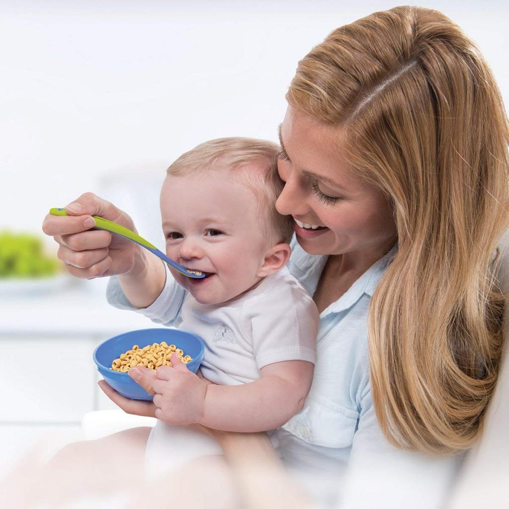 美国著名婴儿用品品牌 Munchkin儿童防漏缤纷碗+汤匙 共10件