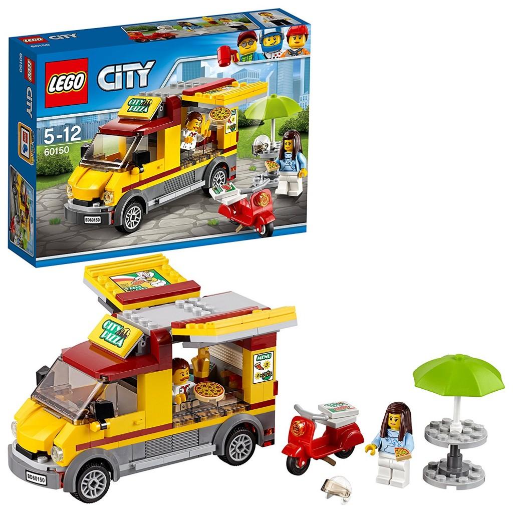 Lego City 城市系列 移动的披萨贩卖车