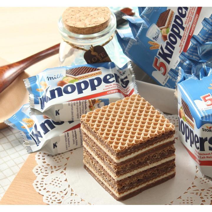 德国人最爱吃的巧克力威化 Knoppers