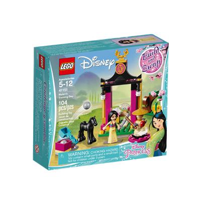 LEGO Mulans Training (41151) 花木兰训练的一天~
