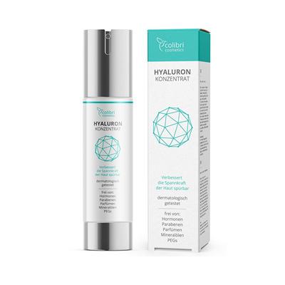 来自德国的天然护肤 Colibri cosmetics高浓度透明质酸精华