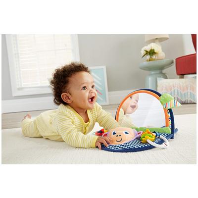 宝宝的开心玩伴~费雪Fisher-price小猴子有镜书
