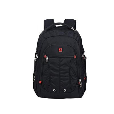 乐享人生旅途  一包走天下  Swisswin多功能商务休闲笔记本电脑双肩包