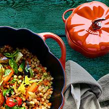做饭也可以很开心  STAUB 珐琅铸铁锅