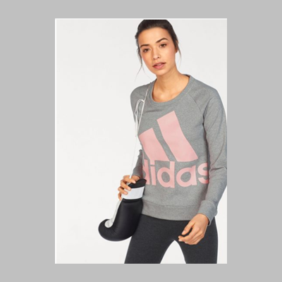 Adidas 男女Logo套头衫