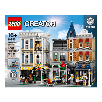 Lego Stadtleben 10255 城市广场 街景系列巅峰之作
