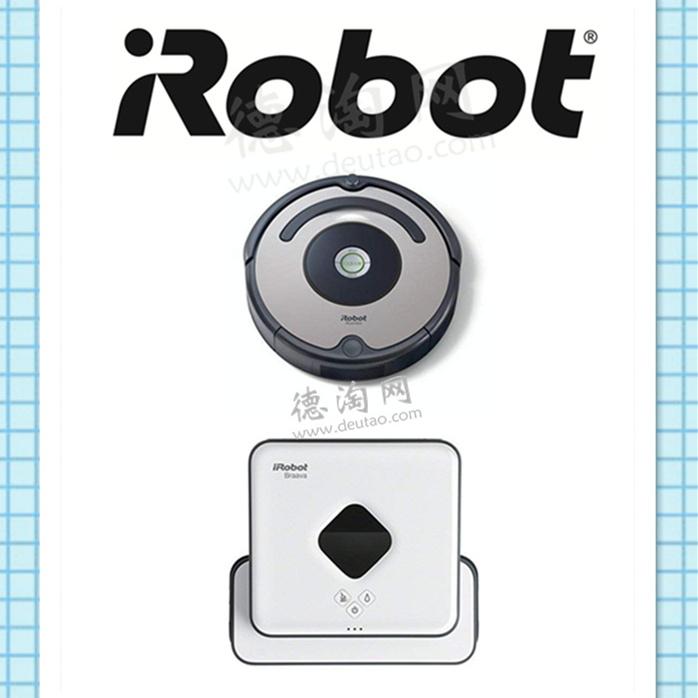 把自己从家务中解放出来!扫地机器人IRobot Roomba 615+ Braava 390t 擦地机器人组合套装