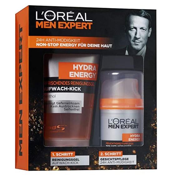 L'Oreal Men Expert 欧莱雅男士 Hydra Energy Geschenkset 劲能醒肤护理套装