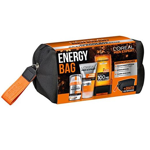 L'Oreal Men Expert 欧莱雅男士 Exclusive Energy Bag 劲能醒肤护理包