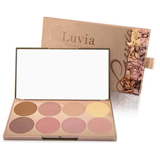 Luvia Cosmetics Highlighter Palette 高光盘
