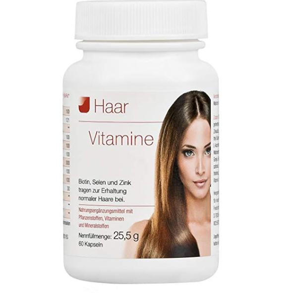 从内而外养护秀发 Vihado Haar 头发营养胶囊(60片)