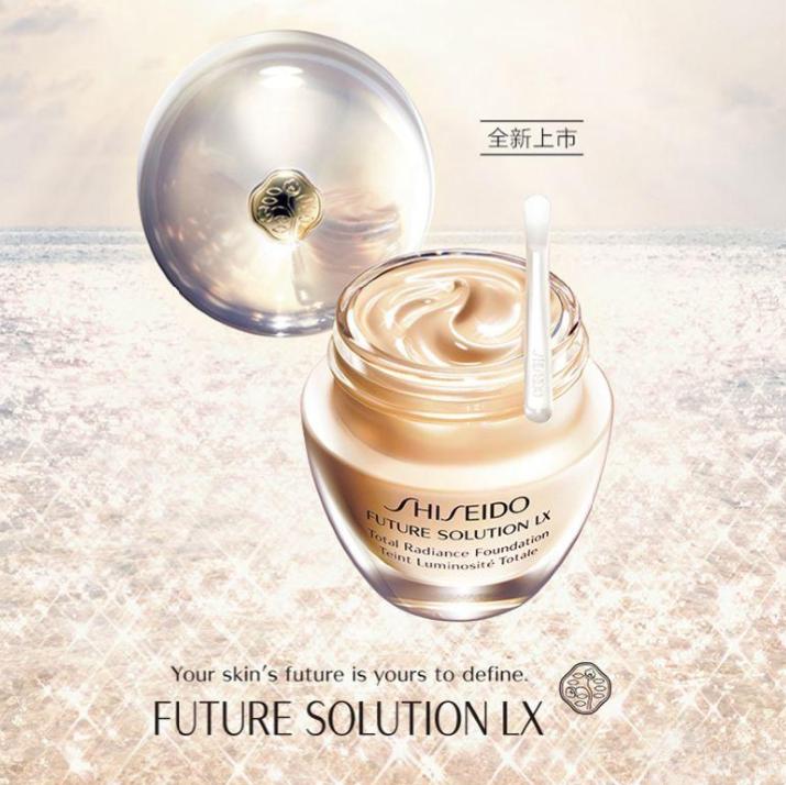 Shiseido资生堂家的贵妇粉底–时光琉璃御藏亮采粉霜