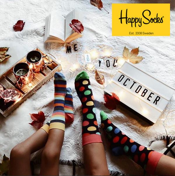 Happy Socks 时尚有趣的袜子!还有比圣诞节更适合买袜子的时间么?