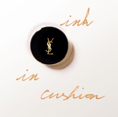 Yves Saint Laurent Le Cushion Encre de Peau 羽毛粉底气垫 最白色有货!!!