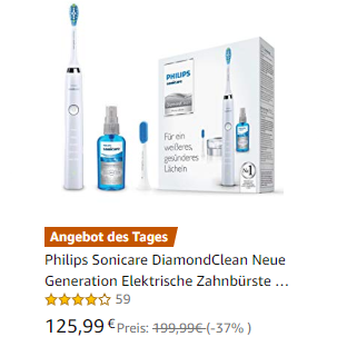 Philips Sonicare DiamondClean 最新代飞利浦钻石亮白牙刷