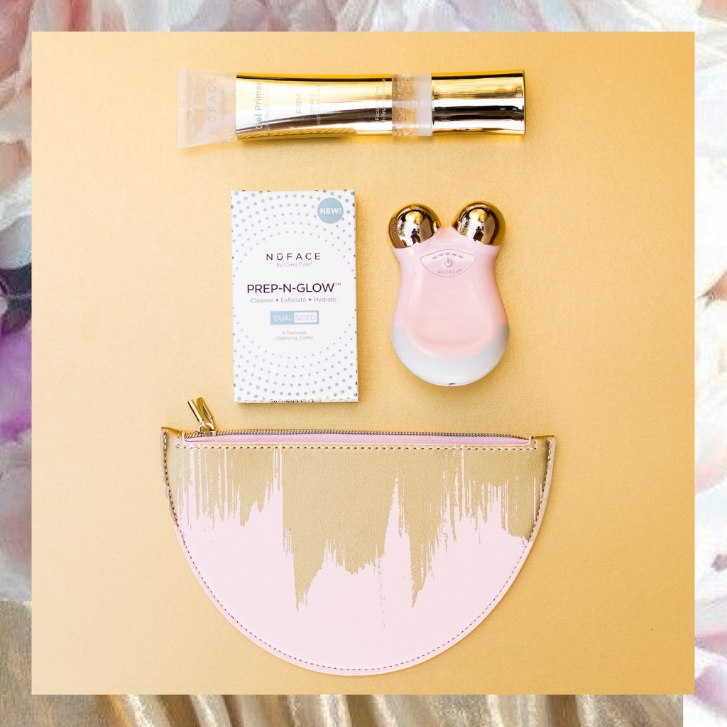 抚平岁月痕迹 在家也能拉皮美容 只需五分钟 Nuface mini 限量玫瑰金套装