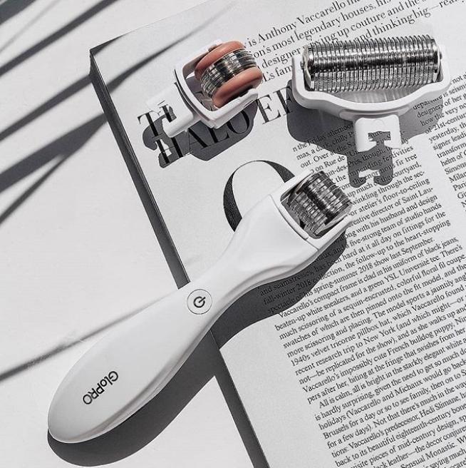 世面上功能最全的微针滚轮! BeautyBio GloPRO 红外光微针滚轮