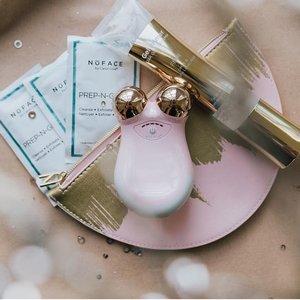独家7折:NuFACE Mini 粉色玫瑰金限定套装